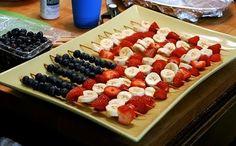 Healthy Fourth of July idea :)