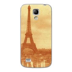 Samsung Galaxy S4 Mini Old Photo Of Eiffel Tower Case