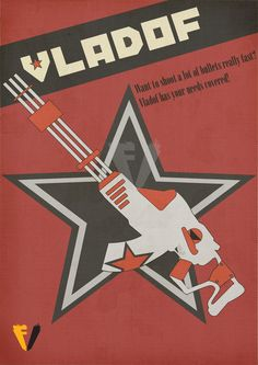 Borderlands Gun Brand Poster - Vladof by FALLENV3GAS on DeviantArt