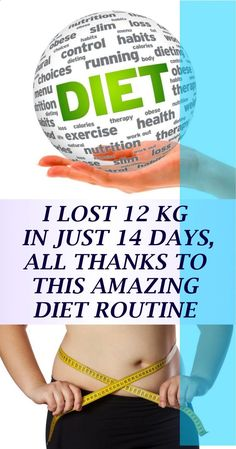 I lost 12 KG Weight In Just 14 Days, All Thanks To This Amazing Diet Routine - House for Health Daily Health Tips For Women, Health Advice, Health And Beauty, Women Health, Mans Health, Healthy Women, Healthy Tips, How To Stay Healthy, Healthy Drinks
