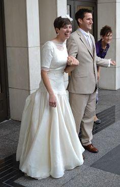 temple ready bridal gown  Emily Dean Custom Gowns  Pinterest ...