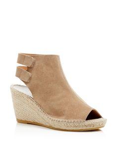 566cbd6cb Bettye Muller Download Peep Toe Espadrille Wedges Shoes - Bloomingdale s
