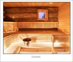 Sauna is a substantial part of Finnish culture. There are five million inhabitants and over two million saunas in Finland - an average of one per household. The sauna is an important part of the national identity. Traditional Saunas, Outdoor Sauna, Finnish Sauna, Sauna Room, Steam Room, Western Red Cedar, Extra Seating, Cool Pools, House In The Woods