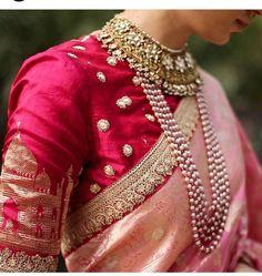 Fullonwedding - Bridal Wear - 10 Best Sabyasachi Bridal Outfits - Red and Pink Benarasi Saree Blouse Designs Catalogue, Patiala Salwar, Anarkali, Lehenga Choli, Sabyasachi Sarees, Sabyasachi Designer, Blue Lehenga, Designer Sarees, Indian Dresses