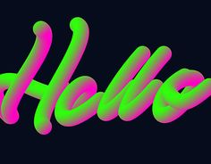 "Check out new work on my @Behance portfolio: ""Hello! Blend Lettering work"" http://be.net/gallery/58181873/Hello-Blend-Lettering-work"