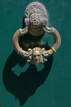 Head Door Knocker, La Rochelle, France