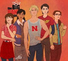 Things We Saw Today: I Would Watch the Gender Swapped Big Bang Theory - For REAL, though.