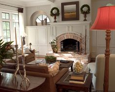 Traditional Living Room Fireplace Mantel Design, Pictures, Remodel, Decor and Ideas - page 365