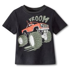 Shirt Both Toddler Boys Monster Truck Tee Big Boy Clothes, Kids Pjs, Kids Wardrobe, Kids Fashion Boy, Toddler Boys, Boy Outfits, Monster Trucks, Baby Boy, Mens Tops