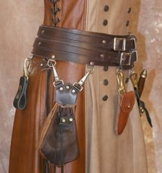 Ladies' warrior belt. $59 base price.
