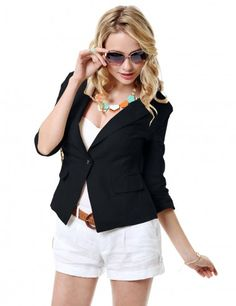 fitted blazers & sunglass for women
