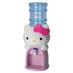 Hello Kitty Water Dispenser- if this dispensed champagne my world would be complete. cc @Deena Korman