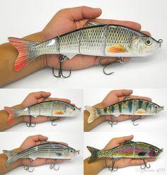 Life Like Swimbait Fish Lures 10inch/25.5cm 4 Segment Fishing Lure Fishing Tool