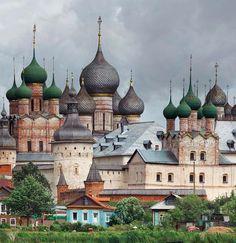 Rostov city, Russia #travel #Russia #architecture