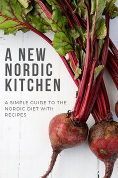 A simple guide to the New Nordic Diet with recipes. Scandinavian Diet, Scandinavian Recipes, Swedish Recipes, Nordic Diet, New Nordic, Healthy Eating Recipes, Diet Recipes, Viking Recipes, Viking Food