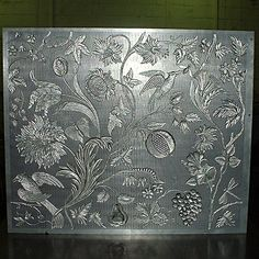 Plaque de Gaufrage en Alluminium pour Cuir de Cordoue