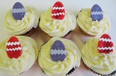 Easter Egg Cupcakes! All our cupcakes are baked from original recipes using the best locally sourced ingredients. Take a few minutes to follow Johnnie Cupcakes and check out more of our wonderful cakes!  #cupcakes #baking #design #cakedecorating