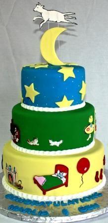 Good Night Moon Cake!