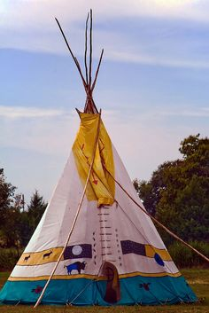Colorful Teepee, via Flickr.