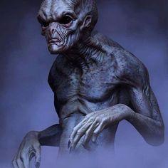 Alien Concept Art by Josh Crockett Aliens And Ufos, Ancient Aliens, Alien Gris, Arte Alien, Alien Drawings, Alien Character, Image Film, Alien Concept Art, Mystery