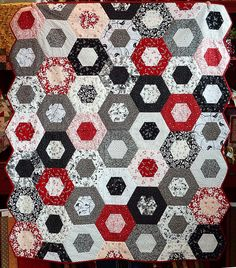 Robert Kaufman Block of the Month | Quilting Inspirations on ... : black and white quilt kits - Adamdwight.com