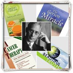 Cures cancer, diabetes, asthma, TB and more.  Dr. Max Gerson. Let food be thy medicine.