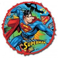 Superman Pullstring Pinata : Party Supplies for Sale : Lets Celebrate Parties Cake Supplies, Party Supplies, Party Hire, Party Favors, Favours, Fox Cookies, Bear Cakes, Woodland Party, Lets Celebrate