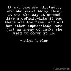 Quote from Daughter of Smoke and Bone by Laini Taylor
