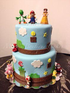 Super Mario Bros. Cake - by Mari's Boutique Cakes