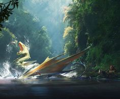 Dragon Fishing by Vukasin Bagic
