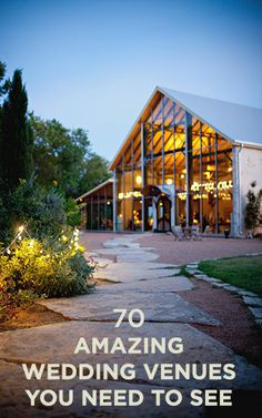 70 Amazing #Wedding Venues