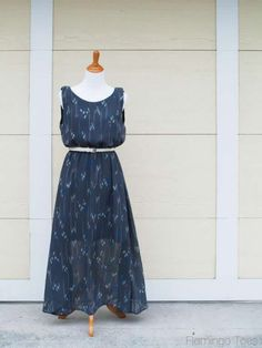 Sheer Maxi Dress tutorial make it with our chiffon... http://www.lowpricefabric.com/c-509-chiffon.aspx