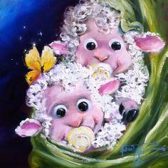 ............................. Источник: www.willbullas.com..Еще смотрите:.Поднимем бокал…Американский художник Will Bullas....