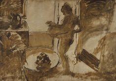 Nude Woman Drying Herself  Edgar Degas