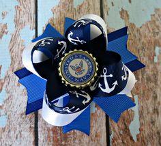 US Navy Anchor Bow. $10.00, via Etsy.