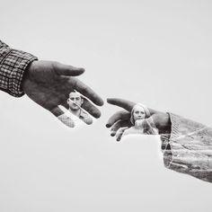 23 storytelling double exposure wedding photos making of de casamento 150 fotos inspirao Pre Wedding Shoot Ideas, Pre Wedding Poses, Wedding Picture Poses, Pre Wedding Photoshoot, Wedding Pictures, Couple Photography Poses, Couple Portraits, Couple Posing, Engagement Photography
