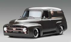 High Performance Trucks - Ford FR100 Panel Truck '53 Concept