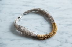 #DIY Wire and Ring Modern #Necklace #Tutorial