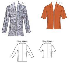 K3716   Jackets   Jackets, Vests & Skirts   Kwik Sew Patterns