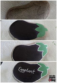 Painted Rock Garden Markers Video Tutorial | The WHOot