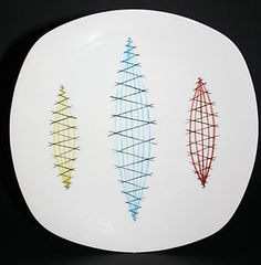 MIDWINTER RARE TRIAL 9.75' DINNER PLATE BY JESSIE TAIT?