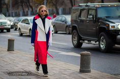 The Best Street Style From Russia Fashion Week