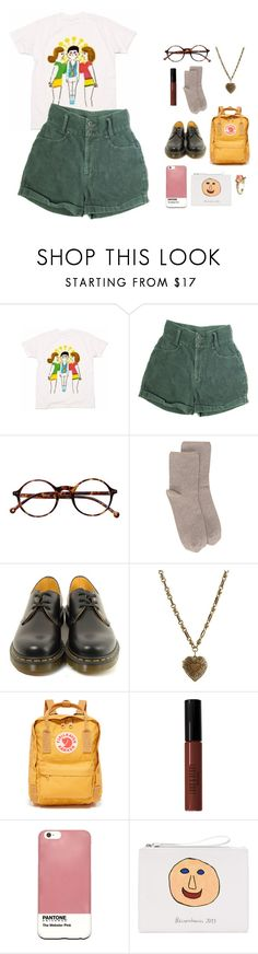 """""""& we're back"""" by fragilestars on Polyvore featuring Retrò, Erika Cavallini Semi-Couture, Dr. Martens, Etro, Fjällräven, Lord & Berry, Case Scenario, Christopher Kane and Vintage"""