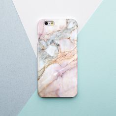 White Marble Stone iPhone 6 Case Samsung Galaxy by OhioDesignSpace