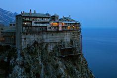 Mt. Athos, Greece - Holy Monastery of Simonos Petra (Simonopetra) by ConstantineD, via Flickr