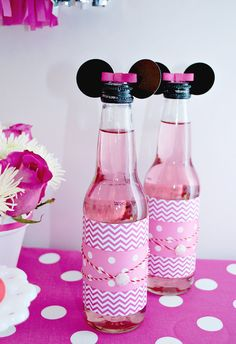Pink and Red Minnie Mouse Party
