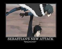 Black Butler - Sebastian's New Attack