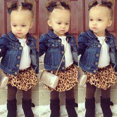 So cute little girl fashion