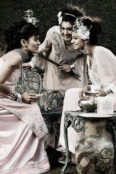 Vintage Style Tea Party