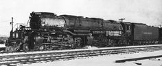 Dampflok Big Boy - Baureihe 4000 der Union Pacific